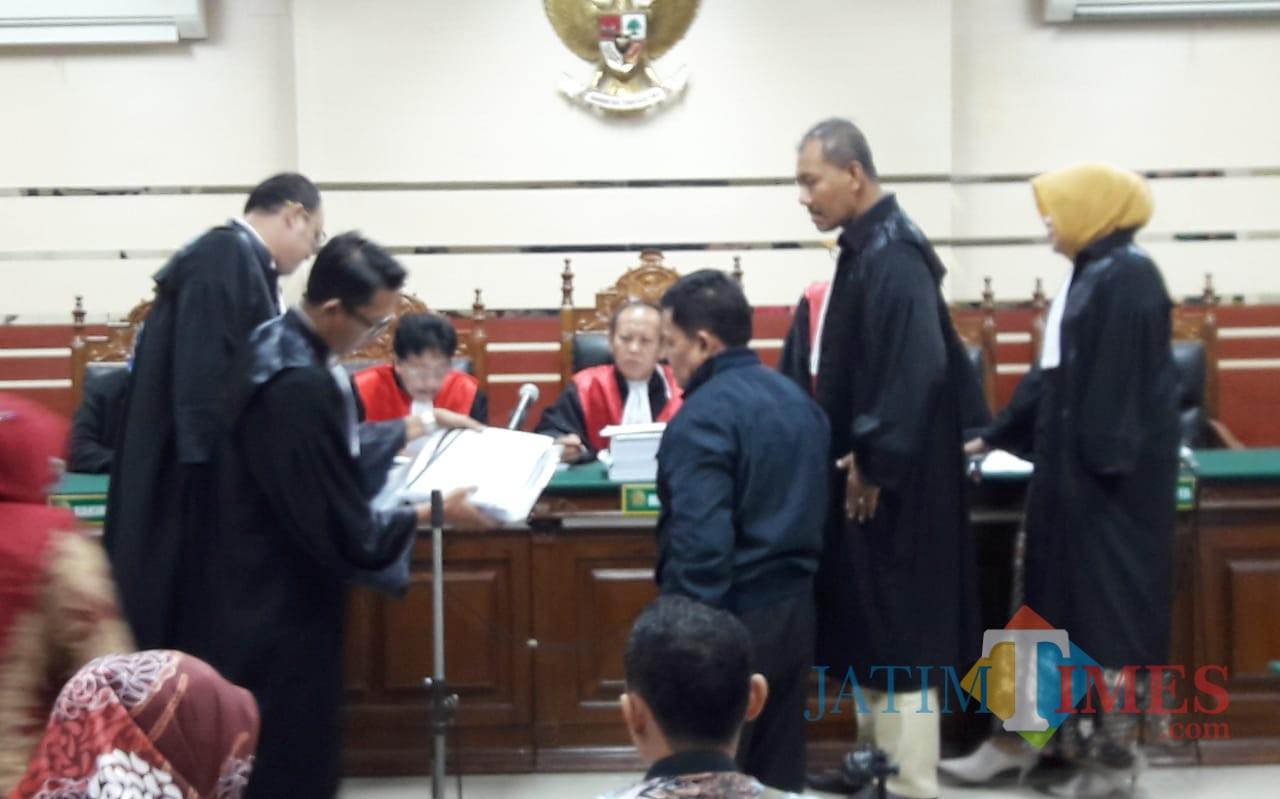 Wali Kota Pasuruan non aktif, Setiyono mengakui ada jatah untuk anggota dewan.