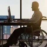 Ilustrasi penyandang disabilitas yang bekerja di sebuah perusahaan (Ist)