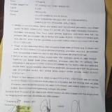 Surat Perdamaian Yang Juga Ditanda tangani Ovila dan Nuning Beserta Kuasa Hukumnya / Foto : Hufron Efendi / Tulungagung TIMES