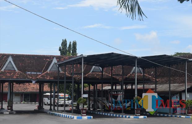 Terminal Patria Kota Blitar.(Foto : dok/BlitarTIMES)