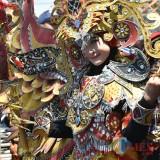 Peserta budaya dalam MBF Kabupaten Malang yang mampu mendatangkan ribuan peserta dan warga, baik dalam maupun luar daerah. (Disparbud for MalangTIMES)