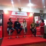 RedDoorz saat menggelar konferensi pers di Hotel Weta, Surabaya