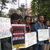 Jalan Mundur untuk Prabangsa, Jurnalis Malang Raya Tuntut Jokowi Cabut Remisi