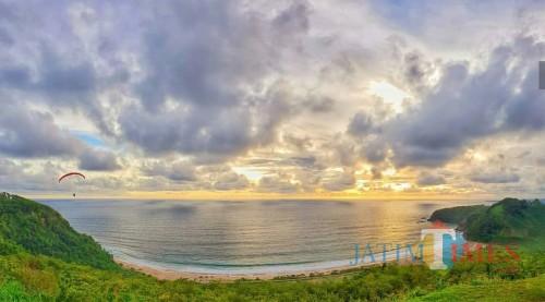Pantai Modangan, Donomulyo, salah satu destinasi wisata di Kabupaten Malang. (Disparbud for MalangTIMES)