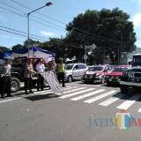 Millenial Road Safety di Kota Blitar libatkan club otomotif.(Foto : Team BlitarTIMES)