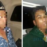 Pelaku pembunuhan IY di Paseban MNR (15) dan MS (24) ditangkap Tim Cobra Lumajang dan Jember (Foto : Moch. R. Abdul Fatah / Jatim TIMES)