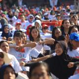 Ribuan Orang Ikuti Senam Sehat PDI Perjuangan