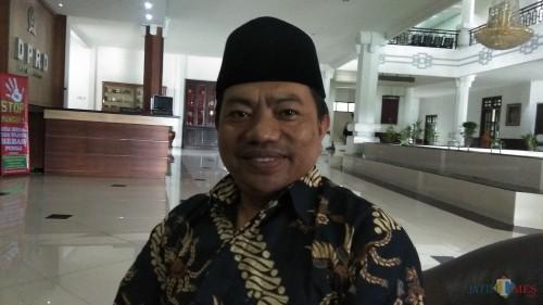 Anggota Komisi B DPRD Kota Malang Lookh Mahfud saat ditemui di gedung dewan. (Foto: Nurlayla Ratri/MalangTIMES)