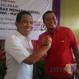 Bupati Lumajang H. Thoriqul Haq dan Ketua DPRD Lumajang H. Agus Wicaksono (Foto : Moch. R. Abdul Fatah / Jatim TIMES)
