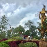 Salah satu spot di area Taman Langit�di Wanawisata Paralayang Gunung Banyak di Kelurahan Songgokerto, Kecamatan Batu. (Foto: Irsya Richa/MalangTIMES)