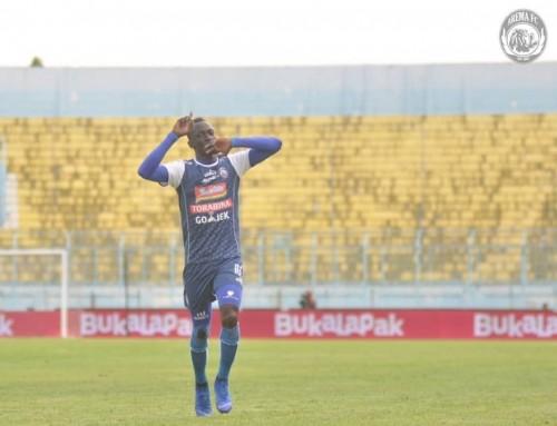 Playmaker Arema FC, Makan Konate (instagram)
