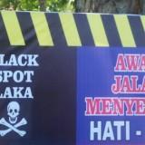 Jalur Black Spot Jalan Kolonel Sugiono Dilebarkan Sepanjang 500 Meter