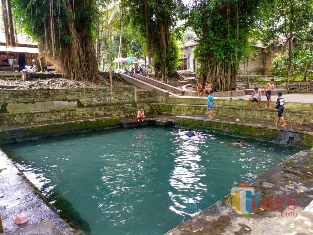 Sumber Ember di Desa Kandangan Srengat.(Foto : Team BlitarTIMES)