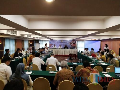 Perumusan kebijakan penyelenggaraan perumahan berbasis komunitas. Dimana program tersebut akan diterapkan juga di Kabupaten Malang (DPKPCK for MALANGTIMES)