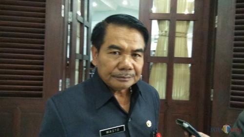 Sekretaris Daerah (Sekda) Kota Malang Wasto saat ditemui di gedung DPRD Kota Malang. (Foto: Nurlayla Ratri/MalangTIMES)