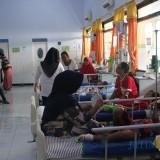 Sejumlah pasien DBD dirawat di kamar seruni RSUD Jombang. (Foto : Adi Rosul / JombangTIMES)