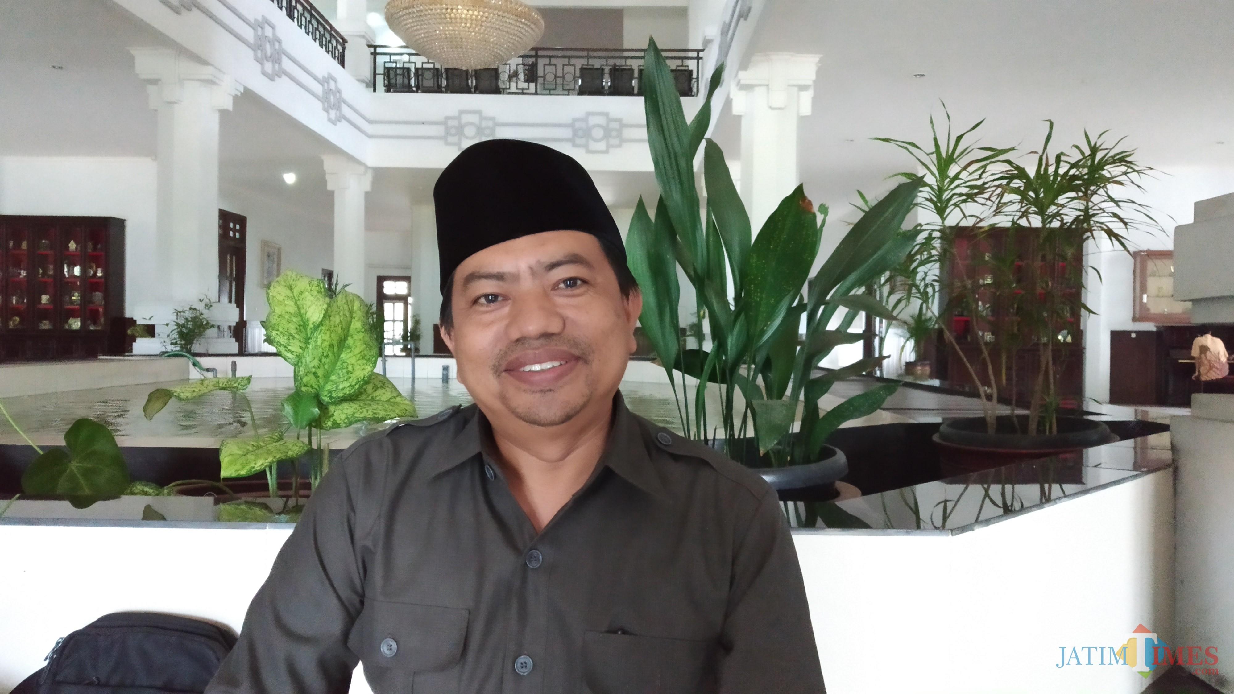 Anggota DPRD Kota Malang Komisi B Lookh Mahfudz. (Pipit Anggraeni/MalangTIMES)