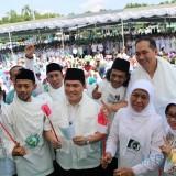 (Depan tengah) Ketua TKN Jokowi-Ma