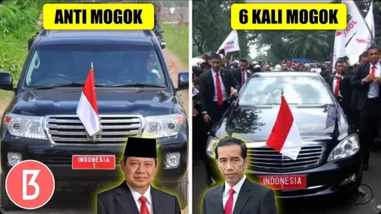 Ilustasi perbedaan kelemahan mobil kepresidenan era SBY dan Jokowi (bedanggak)