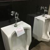 Ruang kamar mandi gedung DPRD Kabupaten.