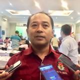 Azhar Chilmi,�komisioner KPU Kota Batu divisi perencanaan dan data. (Foto: Irsya Richa/MalangTIMES)