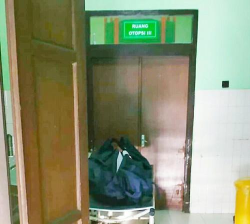 Jenazah korban yang sudah dievakuasi di Kamar Mayat RSSA (Istimewa)