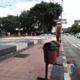 Pembangunan Taman Alun-Alun Kota Blitar Tunggu Sterilisasi Pedagang Kaki Lima