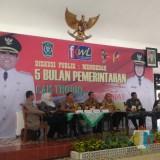 Diskusi Publik Membedah 5 Bulan Pemerintahan Bupati dan Wabup Lumajang (Foto : Moch. R. Abdul Fatah / Jatim TIMES)
