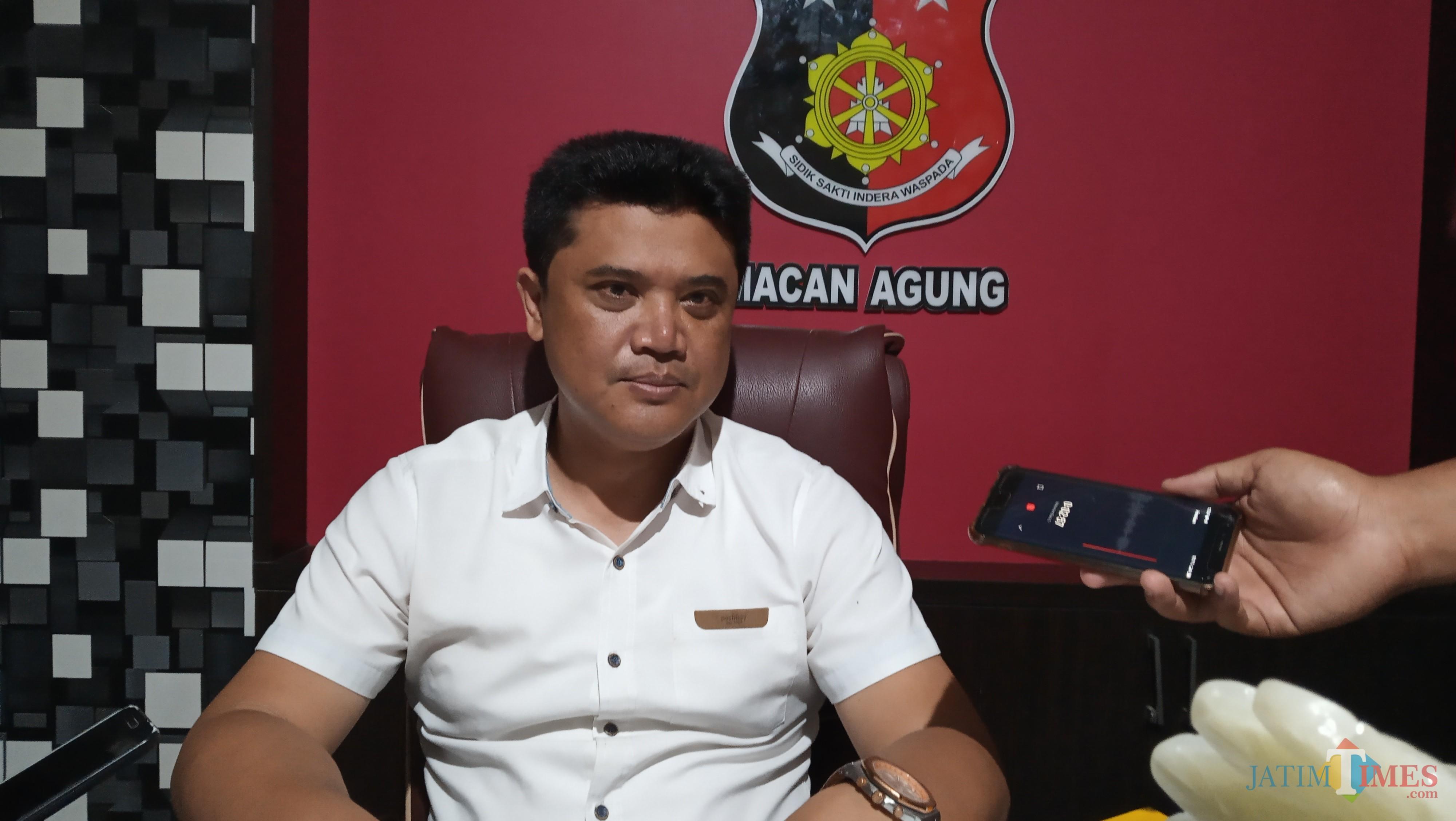 Kasat Reskrim Polres Tulungagung AKP Hendro Tri Wahyono. (foto : Joko Pramono/Jatim Times)