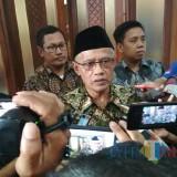 Ketua Umum Pimpinan Pusat Muhammadiyah Haedar Nashir (Foto: Imarotul Izzah/MalangTIMES)