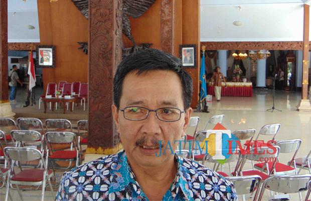 Totok Subihandono, Sekda Pemkab Blitar.(Foto : Aunur Rofiq/BlitarTIMES)
