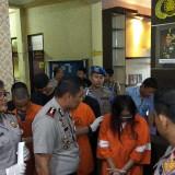 Suasana rilis Operasi Tumpas Narkoba Semeru 2019 di Polres Malang Kota (Foto: Nurlayla Ratri/MalangTIMES)