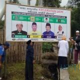 Di Banyuwangi, Empat Caleg dari Partai Berbeda Buat Banner Kampanye Bersama