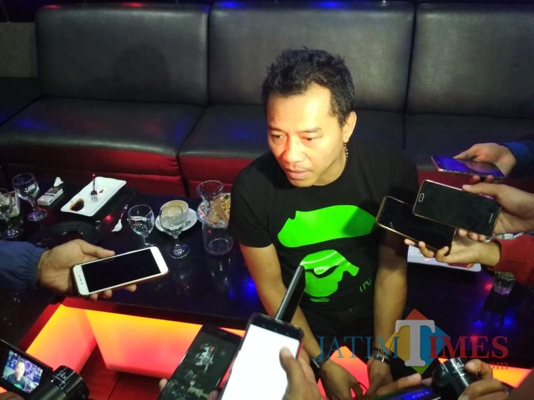 Anang Hermansyah (Foto: Imarotul Izzah/MalangTIMES)