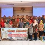 TPID Kota Kediri bersama Kabupaten Sukoharjo saat studi banding di Pemkot Kediri. (Eko Arif S /JatimTIMES)