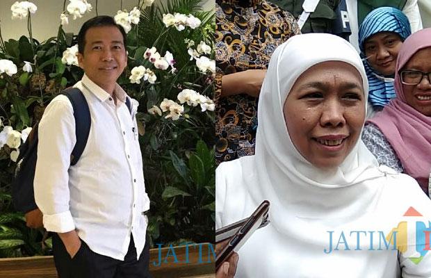 Ghufron Marzuki dan Khofifah Indar Parawansa (Dok. MalangTIMES)