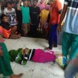 Salah satu korban yang ditemukan dalam kondisi meninggal oleh nelayan sekitar. (foto : istimewa / Jatim TIMES)
