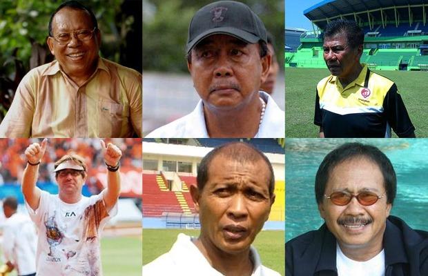 Para pelatih yang pernah menukangi Arema