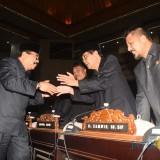 Gubernur Jawa Timur hadiri sidang paripurna DPRD yang merupakan sidang paripurna terakhir di masa jabatan Gubernur Soekarwo