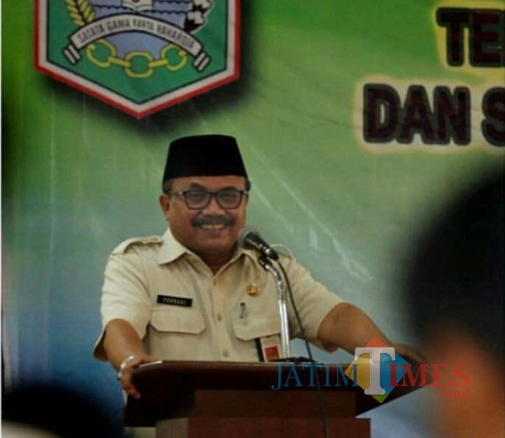 Purnadi Kepala Bapenda Kabupaten Malang optimis melalui e-Panji bisa meraih target tahun 2019 (Bapenda for MalangTIMES)