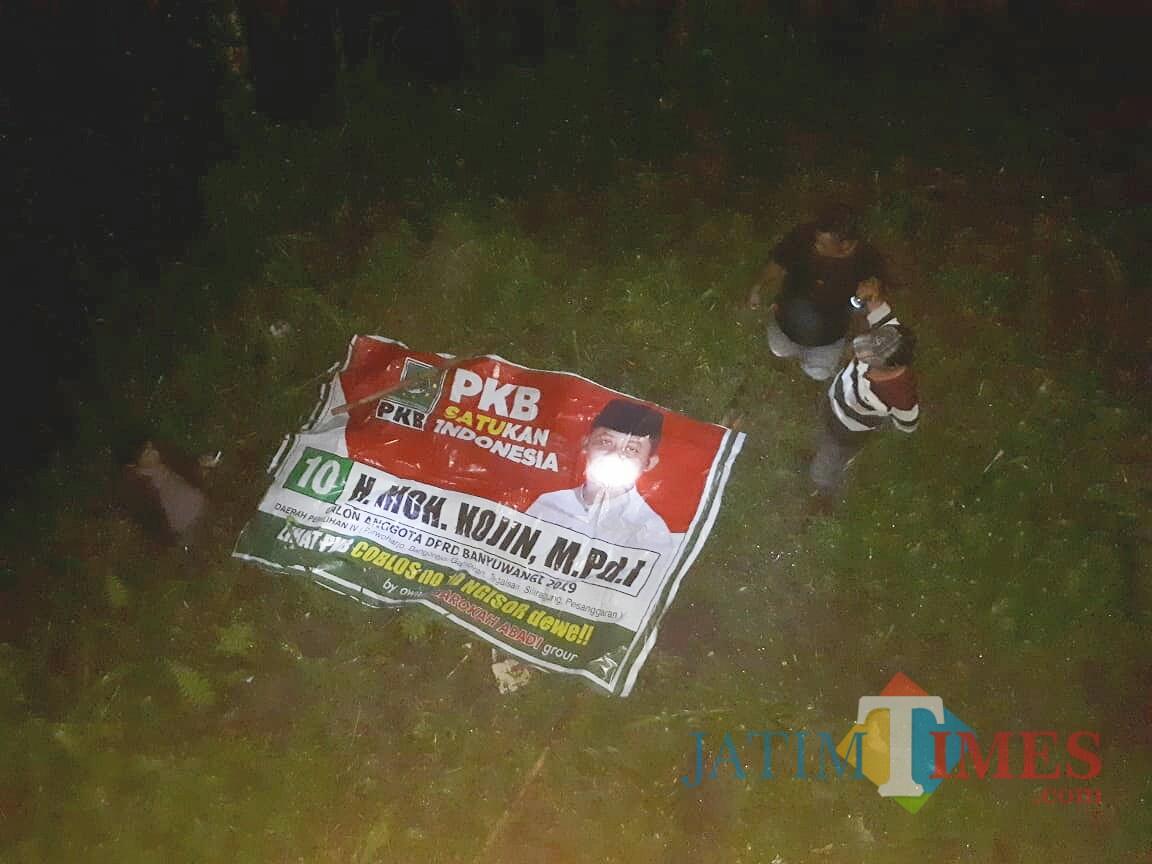 Salah Satu APK milik Moh. Kojin yang diduga dirusak