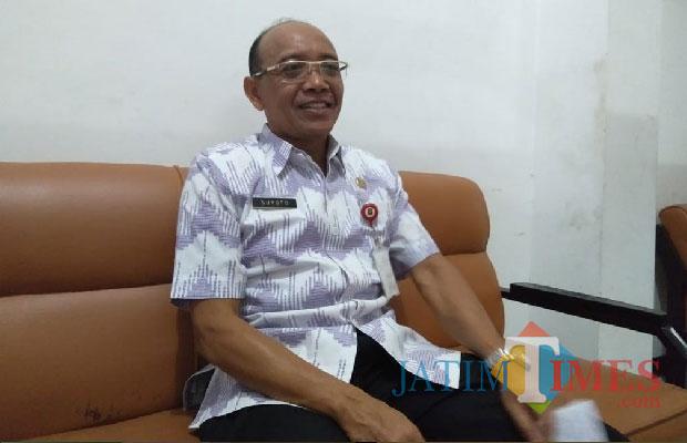 Suyoto, Kepala BKD Pemkot Blitar.(Foto : Team BlitarTIMES)