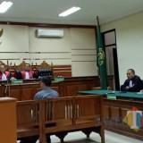 Terdakwa M Baqir, penyuap Wali Kota Pasuruan.