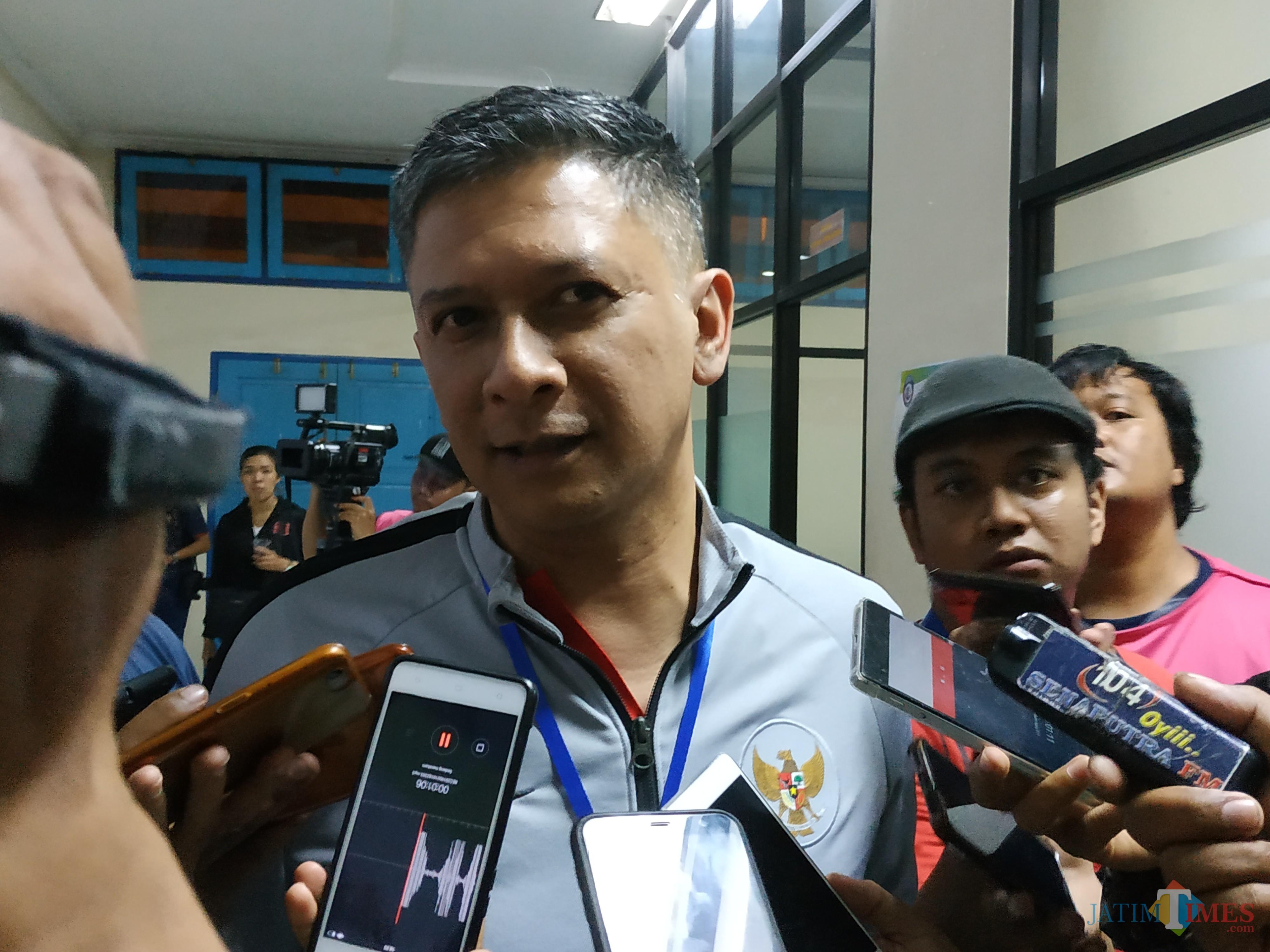 Wakil Ketua Umum PSSI, Iwan Budianto (Hendra Saputra)