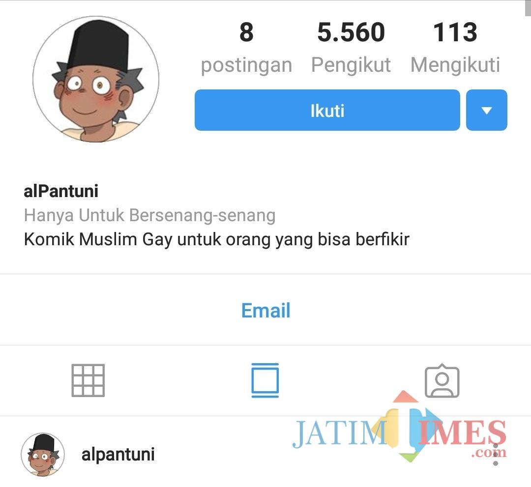 Akun Instagram Alpantuni yang membuat warganet, pemerintah dan masyarakat Indonesia gerah dan marah (screenshoot @alpantuni)