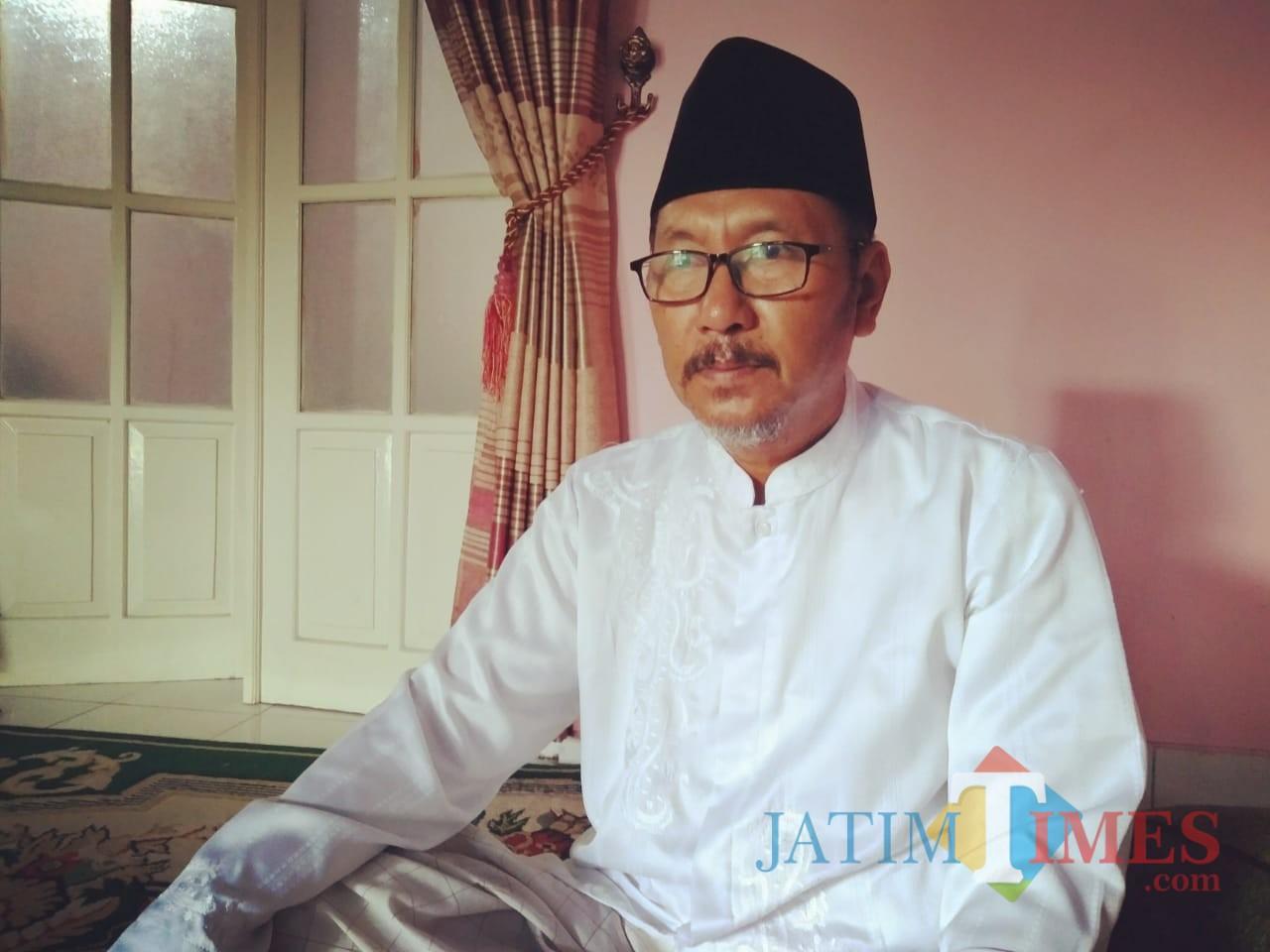 KH Ahmad Subakir, Ketua MUI Kota Blitar.(Foto : Team BlitarTIMES)