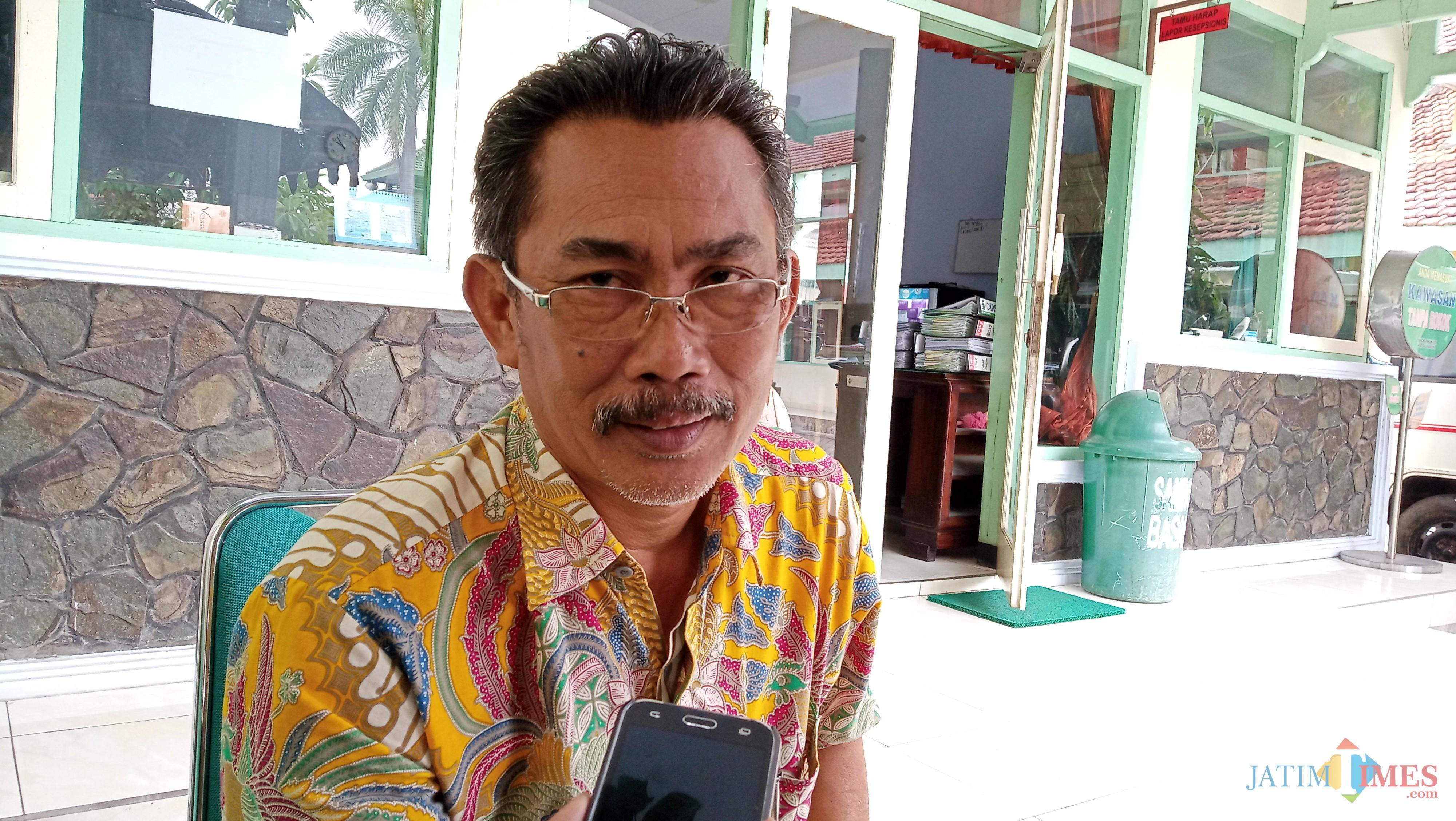Kasi P3M Dinkes Tulungagung, Didik Eka (foto : Joko Pramono/Jatimtimes)