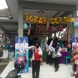 Bazar Ceria Desa Koncer Darul Aman Kecamatan Tenggarang Kabyoaten Bondowoso