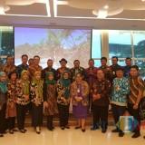 Jajaran Pemkab Blitar saat menyambangi kantor Kemenlu Direktorat Jenderal Asia Pasifik dan Afrika di Jakarta.