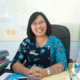 Kepala Bidang Pelayanan Kesehatan Dinkes Pemkab Blitar dr Christine Indrawati.(Foto : Aunur Rofiq/BlitarTIMES)
